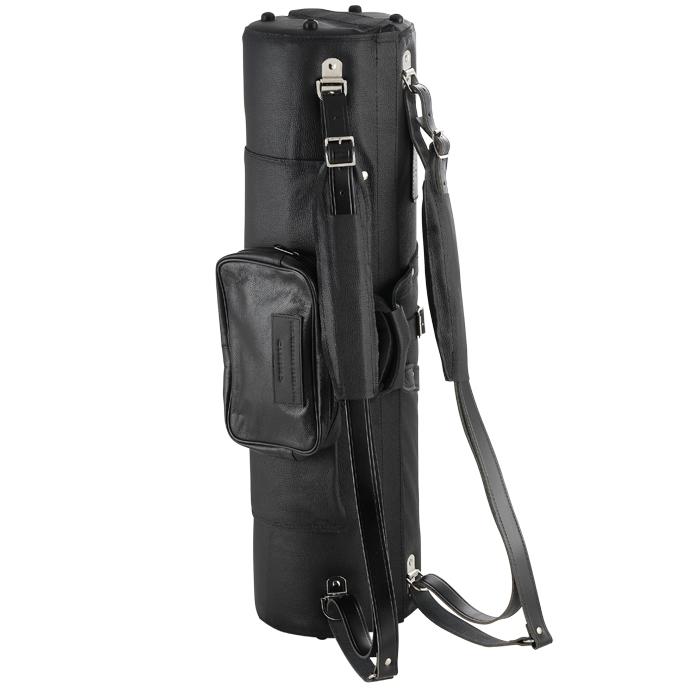 Conn-O Saxophone and straight Alto Saxophone Double Case