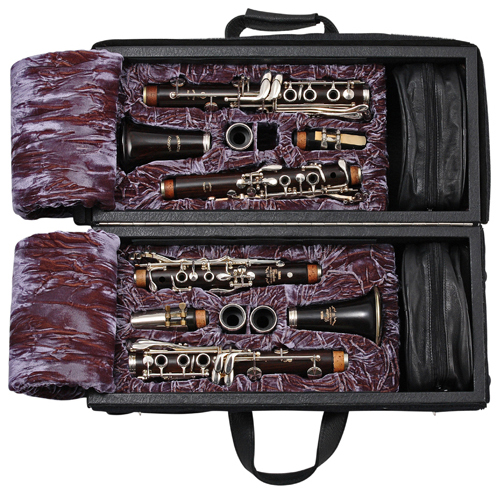 Wiseman London Double Clarinet Combination Case